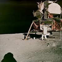 Apollo 11 EVA Unknown Frame